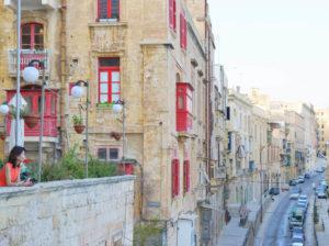 マルタの首都バレッタの街並み