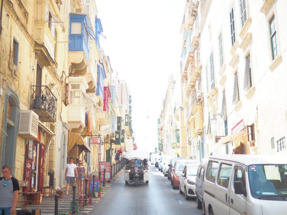 マルタ島のメインストリート