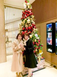 小松さんと溝端の写真