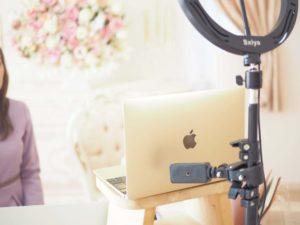 Macで動画撮影の様子