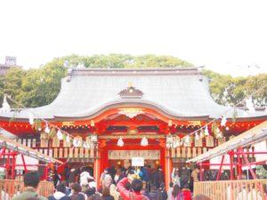 お正月の神戸・生田神社