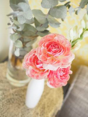 zoom背景に飾る花